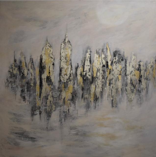 , 'La lune blanche II,' 2017, Susan Calloway Fine Arts