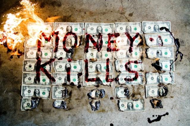Tyler Shields, 'Money Kills', 2019, PLAN X