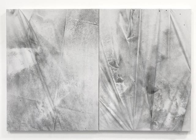 , 'Dirt Painting (Perseo & Medusa),' 2018, Rolando Anselmi
