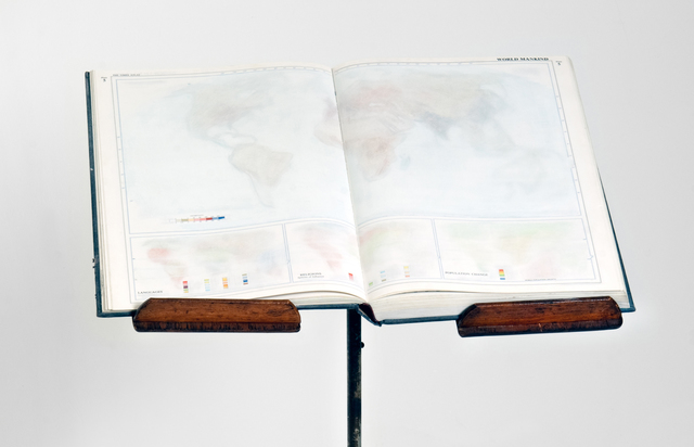 Agustina Woodgate, 'The Times Atlas of The World (Book)', 2012, Spinello Projects