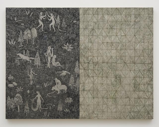 Nana Funo, '鳥のお告げとめまいのページ', 2018, Tomio Koyama Gallery