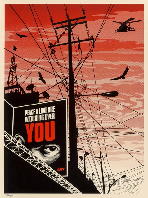 Shepard Fairey, 'Big Brother City', 2007, Heritage Auctions