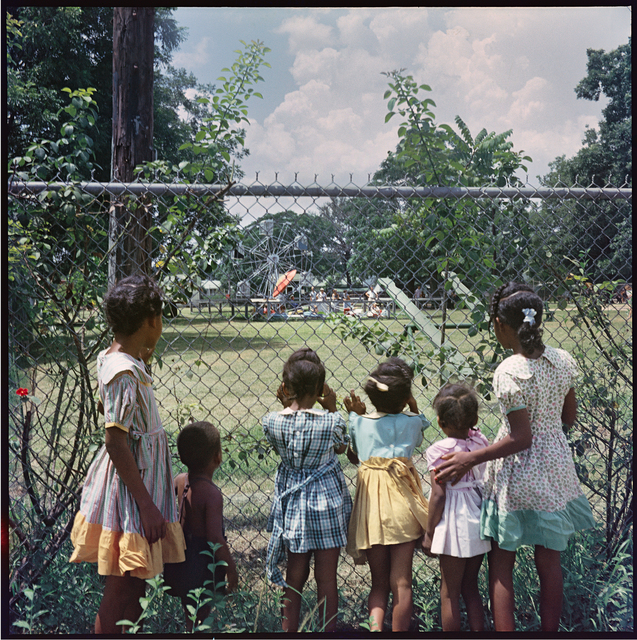 , 'Outside Looking in, Mobile, Alabama,' 1956, Rhona Hoffman Gallery
