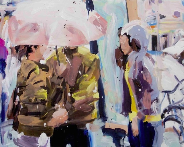 , 'Die Begegnung (Sommerregen),' 2014, Gallery Kampl