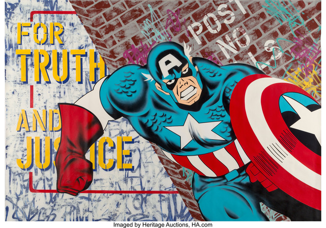Seen UA, 'Captain American', 2007, Heritage Auctions