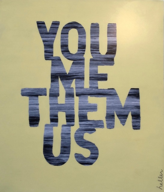 , 'You Me Them Us,' 2016, Heather Gaudio Fine Art