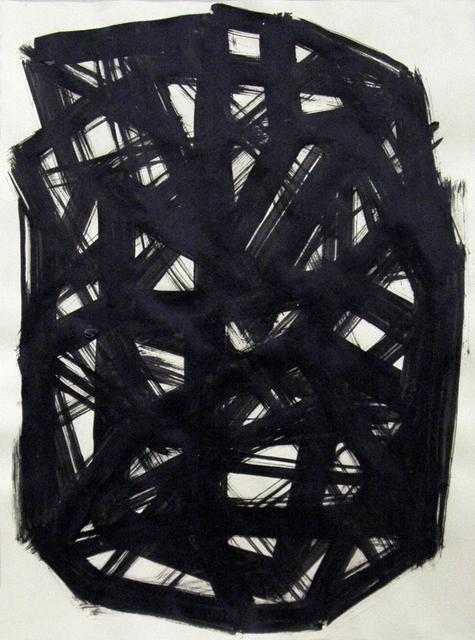 , 'Ink wash study,' 2017, Cindy Rucker Gallery