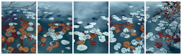 , 'Water Lilies,' 2018, Taik Persons