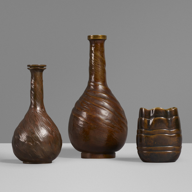 Evan Jensen, 'Vases, set of three', c. 1937, Wright
