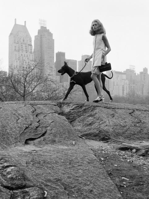 , 'Avec Isa Stoppi à Central Park pour Harper's Bazaar, New York, Novembre,' 1966, Michael Hoppen Gallery
