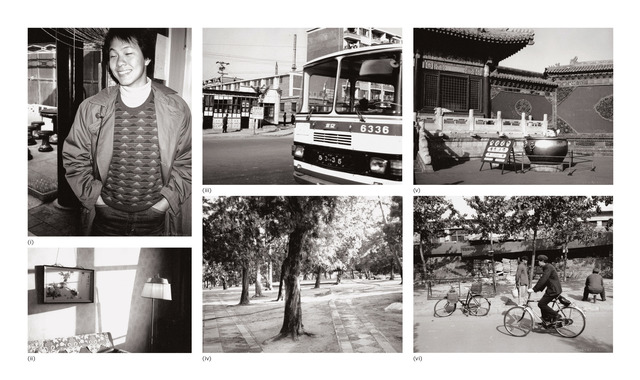 Andy Warhol, 'Six works: (i) Alfred Siu; (ii) Interior; (iii) Street Scene (Bus); (iv) Wooded Park; (v) Temple Entrance; (vi) Street Scene with People and Bicycles', 1982, Phillips