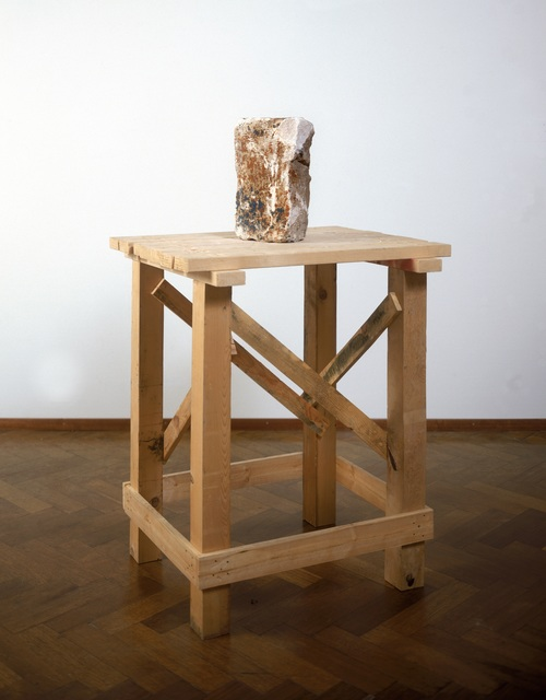 , 'WHAT IS SET UPON THE TABLE SITS UPON THE TABLE,' 1960, Noguchi Museum