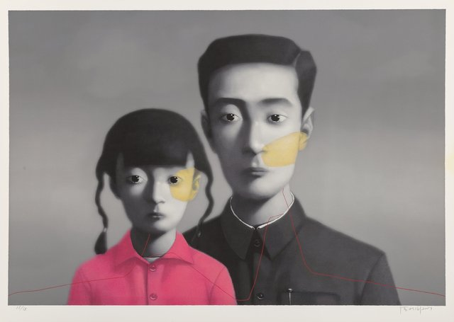 Zhang Xiaogang, 'Untitled (Big Family) from the series Bloodline', 2007, Heritage Auctions