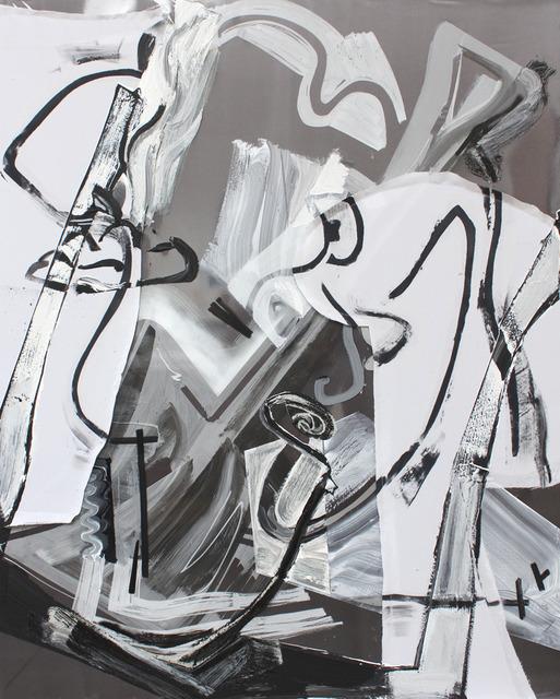 , 'Black and White Daddy (Shovel),' 2014, Richard Telles