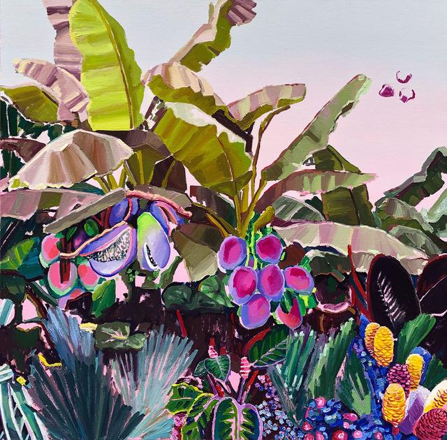 Alejandra Atares, 'Purple garden', 2019, Victor Lope Arte Contemporaneo