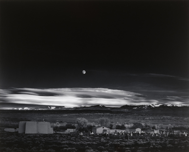 , 'Moonrise, Hernandez, New Mexico,' 1941, Atlas Gallery
