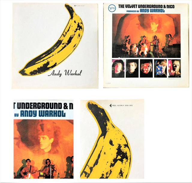 "Andy Warhol, 'THE HOLY GRAIL- RARE NEAR MINT, ""Andy Warhol"", , 1967, Velvet Underground & Nico LP , VERY RARE TORSO edition & UNPEELED BANANA STICKER, Museum Quality', 1967, Print, Vinyl, Cardboard, VINCE fine arts/ephemera"