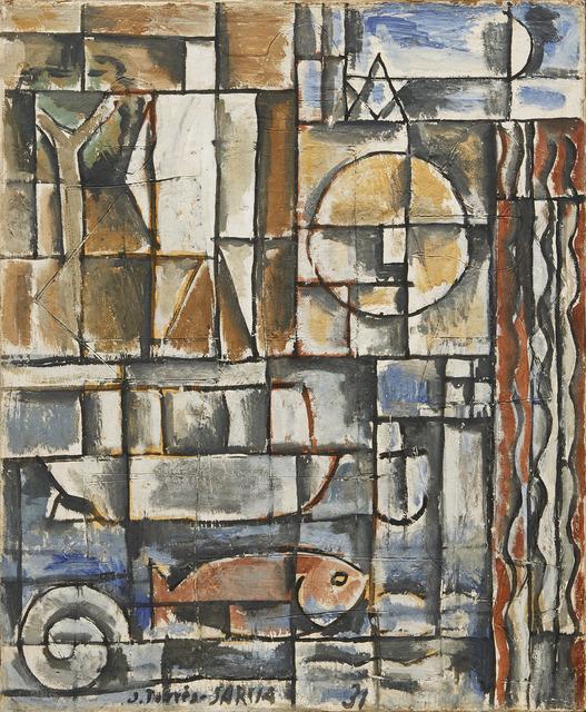 , 'Constructif avec homme blanc [Constructive Composition with White Man],' 1931, Acquavella Galleries
