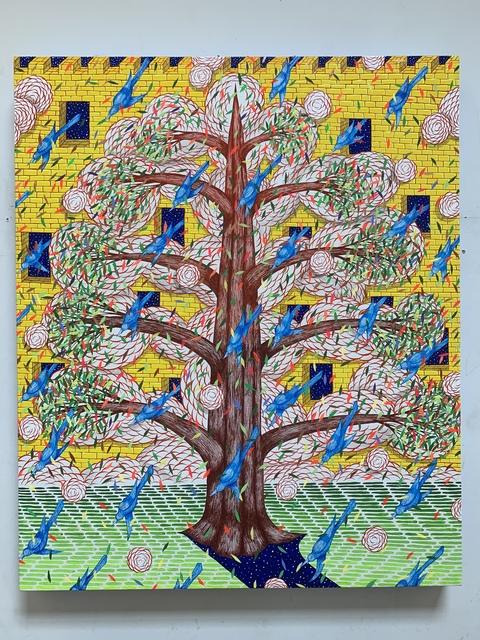 , 'Hidden Fortress ( Tree),' 2019, Galerie LJ