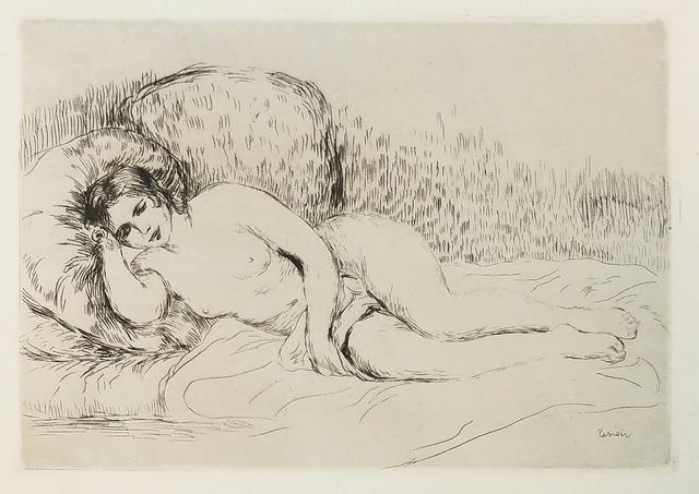 , 'Femme Nue Couchée (Tournée à Gauche),' 1907, Galerie d'Orsay