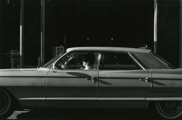 Thomas Barrow, 'untitled, fts Automobile', 1964, Photography, Vintage gelatin silver print, Joseph Bellows Gallery