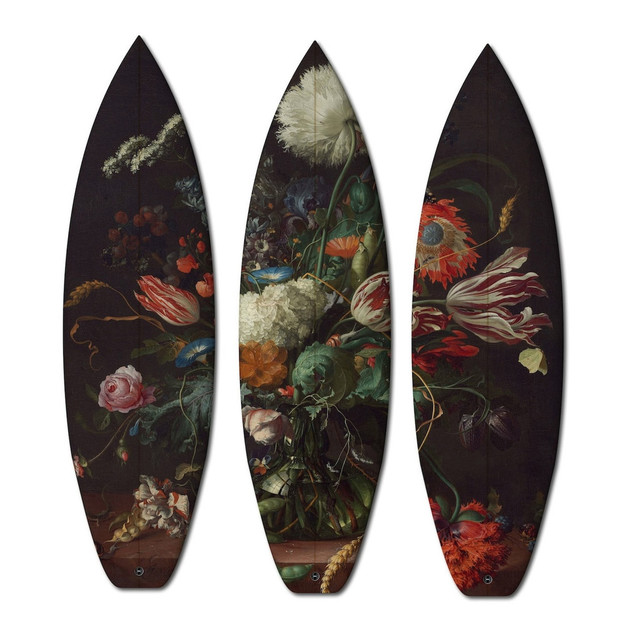 , 'FLOWERS TRIPTYCH / 3 SURFBOARDS,' , ArtStar