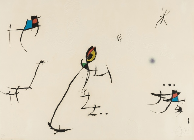 Joan Miró, 'Barcelona Plate 10 (Dupin 601)', 1972, Forum Auctions