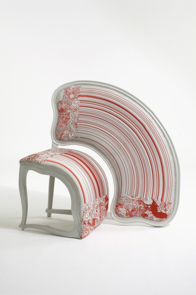, 'Lathe V Chair,' 2008, Museum of Arts and Design