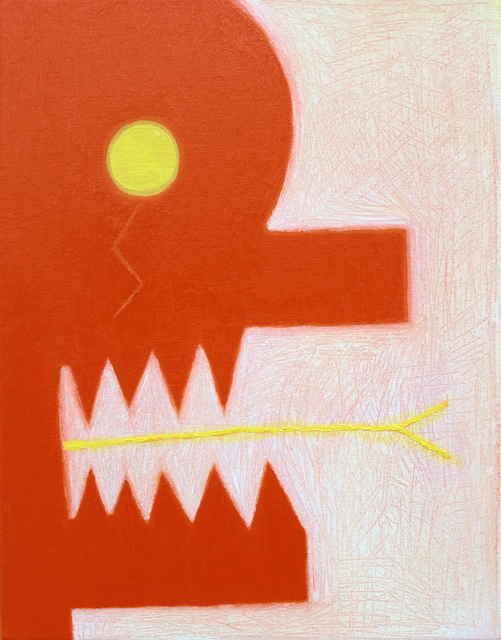 , 'Orange Head (Yellow Tongue),' 2018, Charlie Smith London