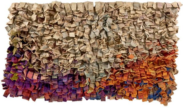 Olga de Amaral, 'Cuatro paisajes (Modulo D) [Four landscapes (Module D)]', 1976-1977, Richard Saltoun