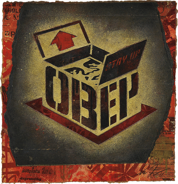 Shepard Fairey, 'OBEY Stay Up Box', 2011, Phillips