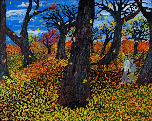 Reginald K Gee, 'Hikers Park North', 2007, David Barnett Gallery