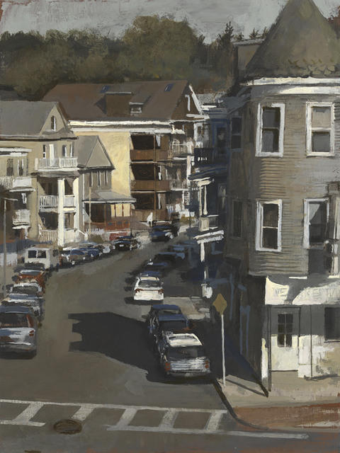 , 'Woodlawn Street, (Sun),' 2017, Clark Gallery