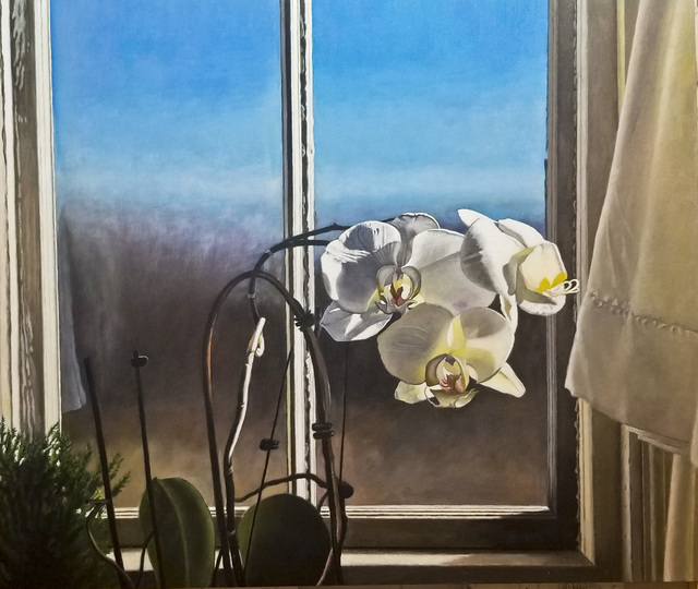 , 'Orchid,' 2018, Rice Polak Gallery