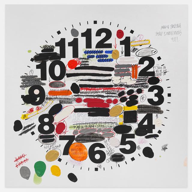 , 'Untitled Timepiece (HARD ERROR),' 2017, Mitchell-Innes & Nash