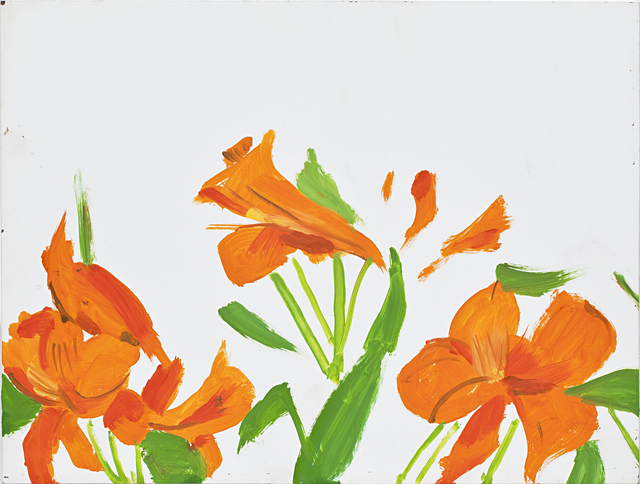 Alex Katz, 'Flowers 2', 2011, Monica De Cardenas