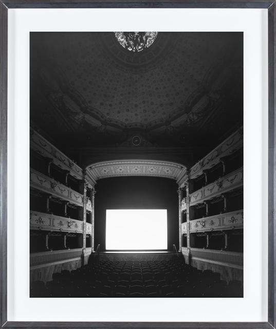 , 'Teatro dei Rozzi, Siena,' 2014, Fraenkel Gallery