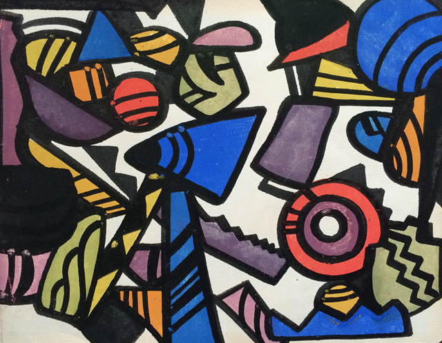 , 'Synchromist Abstraction,' ca. 1921, Caldwell Gallery Hudson