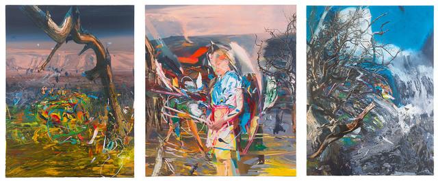 , ' Fatamorgana Triptych I, II, III,' 2015, sommer.frische.kunst