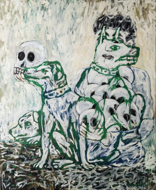 , 'White Dogs,' 2012, iPreciation
