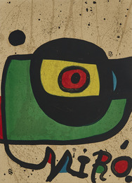 Miro Pintura (Design For A Poster (Without Letters)
