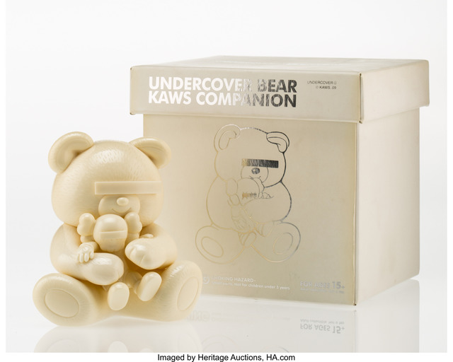 KAWS, 'Undercover Bear (White)', 2009, Heritage Auctions