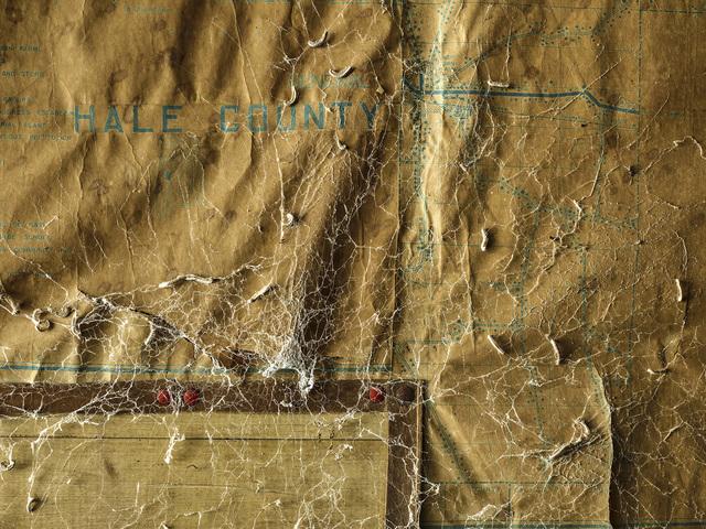 , 'Hale County Map, Marion, AL,' 2018, Yancey Richardson Gallery