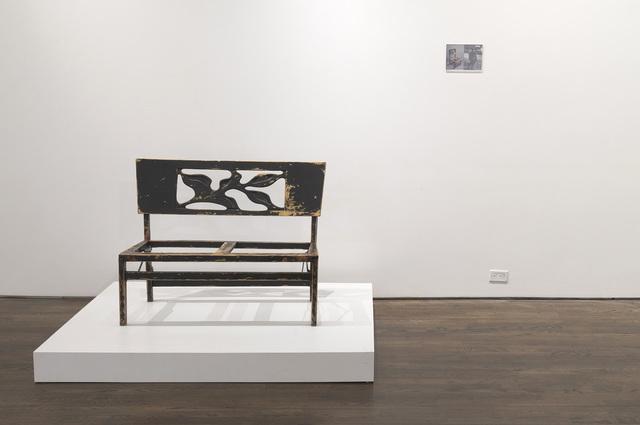 , 'Duet Bench / Love Seat (Glenn Gould),' 2013, Galerie Antoine Ertaskiran