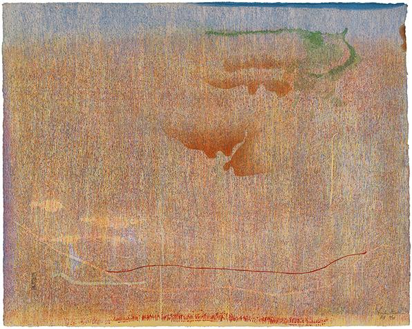 , 'Cedar Hill,' 1983, Helen Frankenthaler Foundation