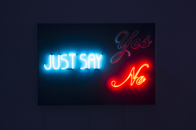 , 'Just Say,' 2017, Winsor Gallery