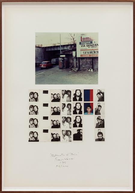 , 'Photomatic d'Italia (Milano),' 1973, P420
