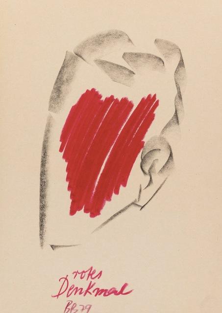 , 'Rotes Denkmal,' 1979, Riva di Morcote Fine Arts