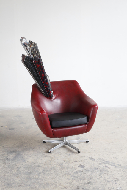 , 'Red Chair,' 2017, z2o Galleria
