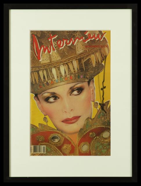 Andy Warhol, 'Diane von Fürstenberg - Interview Magazine Cover', 1981, Belgravia Gallery